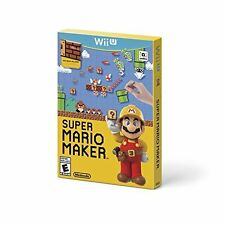 Super Mario Maker Nintendo Wii U With Manual And Case Very Good 7Z