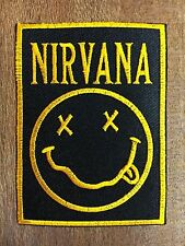 New NIRVANA SEW OR IRON ON EMBROIDERED PATCH
