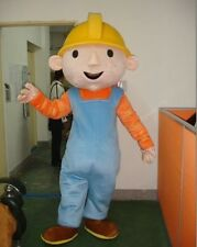 New Bob the builder Fancy Dress Mascot EPE Outfit  Adult Costume ZZ*