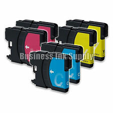 6 New Color LC61 ink cartridge for Brother printer LC61