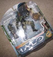"Halo 3 ""Sgt. Johnson with Spartan Laser"" Action Figure (Xbox 360/One) new MINT"