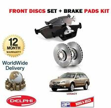 FOR SUBARU LEGACY 3.0 R SPEC B 2004-2009 FRONT BRAKE DISCS SET+ DISC PADS KIT