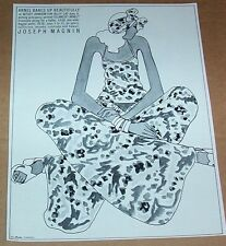 1973 vintage ad -Betsey Johnson Alley Cat fashion Magnin Arnel PRINT Advertising