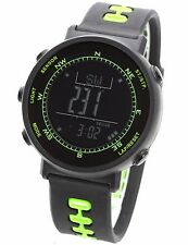 LAD WEATHER Swiss Sensor Altimeter Barometer Compass Green Outdoor Sports Watch