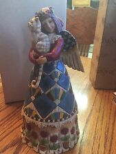 Jim Shore Angel With Cat 105170