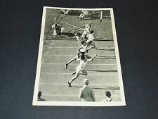 LOS ANGELES 1932 J.O. OLYMPIC GAMES OLYMPIA ARRIVEE 100 M DAMES DOLLINGER