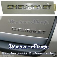 "Tailgate ""CHEVROLET"" Lettering Logo Badge Emblem for 06+ Chevrolet Captiva"