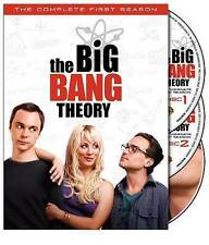 THE BIG BANG THEORY THE COMPLETE FIRST SEASON ONE 1 DVD WITH SLIPCOVER