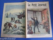 Le petit journal 1893 160 découverte des restes du Ripple au pôle nord