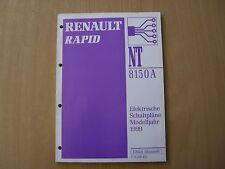 Manuale Officina Elettrico Schaltpläne Renault Rapid Modello Dell'anno 1999