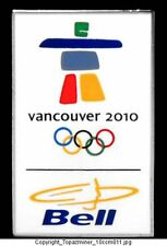 OLYMPIC PINS VANCOUVER CANADA 2010 BELL TELECOM SPONSOR