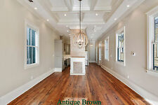 """6""""  8"""" Wide Plank Prefinished Pine Flooring, heart pine, hand rubbed oil finish"""