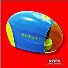 WESTCOTT BATTERY POWERED OPERATED ELECTRIC PENCIL LEAD SHARPENER AUTOMATIC