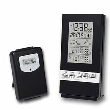 Wireless Weather Station Indoor Outdoor Temperature Thermometer Humidity °C °F