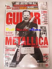 GUITAR WORLD Magazine SEALED Dic 2008 +cd MetallicaPaul Gilbert Hetfield Hammett