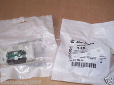 NEW ALLEN BRADLEY 140-CT10-10 TRIP INDICATING CONTACT 1 PER BUY