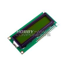 1602 Parallel LCD Module (Yellow Backlight) 16x2
