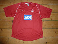 size:XXL ABERDEEN FC Football Shirt 2005 Soccer Jersey Scottish #Dons Nike ADT