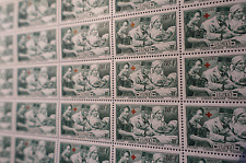 FEUILLE SHEET TIMBRE CROIX ROUGE N°459 x25 1940 NEUF ** LUXE MNH COTE 314€