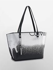 NEW Calvin Klein hailey city ombre shopper tote bag handbag