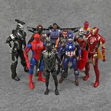 Marvel Legends Captain America 3 Civil War Iron Man Action Figures Toys 10pcs