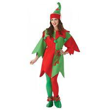 Elf Costume Adult Christmas Fancy Dress