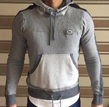 Men's authentic d&g en coton gris à capuche xl