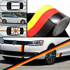 15cm*1M Car PVC Body Sticker Germany Flag Stripes Decal Self-adhesive Removable