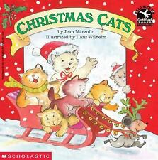 Kids cool paperback:Christmas Cats-work,wrap presents, lights,lists,plan-Santa?