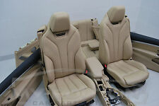 BMW F33 Cabriolet el Sport Leather trim Leather seats leather Exclusive Lordose