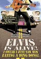 ELVIS IS ALIVE! I Swear I Just Saw Him Eating a Ding Dong! (DVD, 2005) NEW