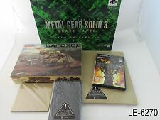 Metal Gear Solid 3 Premium Package PS2 Japanese Import Playstation 2 Limited JP