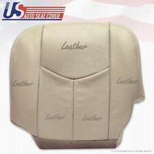 2003 GMC YUKON Driver Bottom Leather Seat Cover Tan with Power Controls Option