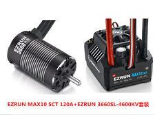 Hobbywing EZRUN MAX10 SCT 120A Brushless ESC 3660 G2 4600KV Sensorless Motor Set
