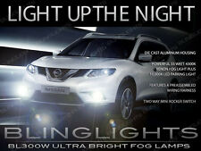 Xenon Halogen Fog Lamps Driving Lights Kit for 2014-2017 Nissan X-Trail Xtrail
