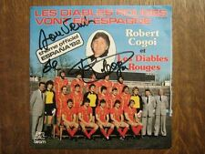 ROBERT COGOI 45 TOURS BELGIQUE FOOTBALL DIABLES ROUGES