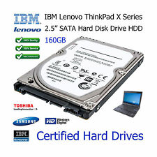 "160GB IBM Lenovo ThinkPad X200 2.5"" SATA Laptop Hard Disk Drive (HDD) Upgrade"