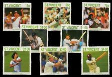 St. Vincent 1988-Famous Cricketers of Inter. season Kapil Dev, Gawaskar etc.
