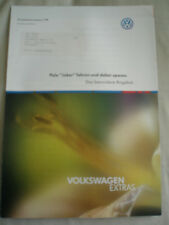 VW Polo Joker Product Information brochure Jan 1999 German text