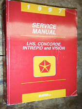 1997 DODGE INTREPID CHRYSLER LHS CONCORDE EAGLE VISION FACTORY SERVICE MANUAL