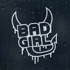Bad Girl Devil Car Decal Vinyl Sticker