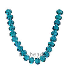 3x4mm Charms Faceted Loose Rondelle 5040# Crystal Glass Beads Spacer 71Colors