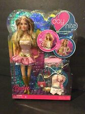 2007 Mattel Day 2 Nite Barbie SUMMER Articulated Doll Fashions Set NRFB M4832
