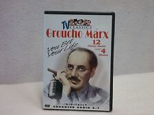DVD Groucho Marx - You Bet Your Life - Black & White, Comedy, TV Shows
