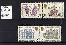 Gran Bretagna/Great Britain 1973 4° centenario nascita disegnatore I.Jones  MNH