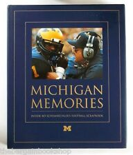 MICHIGAN MEMORIES Bo Schembechler's Football Scrapbook - HARDBACK - 1st Ed - NEW