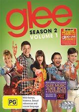 Glee : Season 2 : Vol 1 (DVD, 2011, 3-Disc Set) New & Sealed, Region: 4