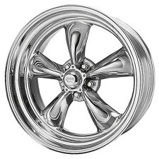 (2) American Racing TORQUE THRUST II Wheels Torq VN515 5x4.75 18x8 Chevy 8861
