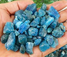80.5g  Natural Rough Blue Apatite Gem Specimen Madagascar LHS D