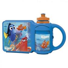 BoyzToys 84572 Finding Dory lunch Box with Built in Water Bottle Combo Set - New